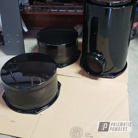 Powder Coating: Automotive,Ink Black PSS-0106,semi truck,Air Filter