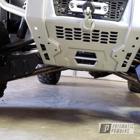 Powder Coating: Automotive,Clear Vision PPS-2974,UTV,Ranger,Bumpers,Polaris,Class A Silver PMB-4202