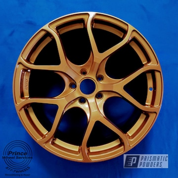 Powder Coated Volkswagen Rims In Emb-4448