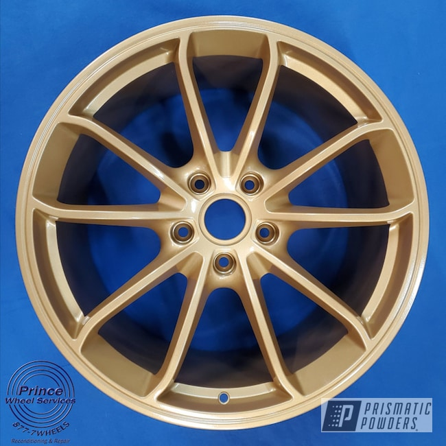 Powder Coated Alloy Porsche Wheels In Pmb-4211