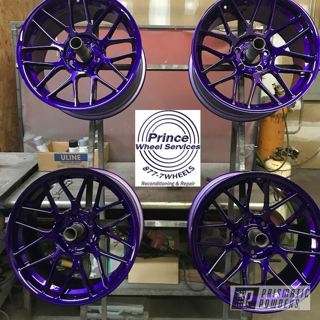 Powder Coating: Wheels,Rim,Illusion Purple PSB-4629,Automotive,Alloy Wheels,Clear Vision PPS-2974,Rims,Aluminum Rims,Aluminum,Automotive Wheels,Aluminum Wheels