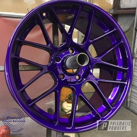 Powder Coating: Illusion Purple PSB-4629,Wheels,Rim,Automotive,Alloy Wheels,Clear Vision PPS-2974,Rims,Aluminum Rims,Aluminum,Automotive Wheels,Aluminum Wheels