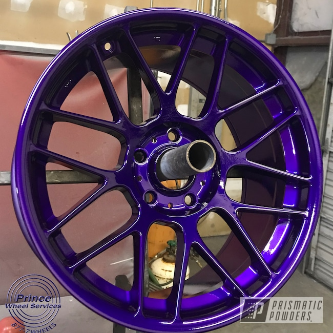 Powder Coating: Illusion Purple PSB-4629,Wheels,Rim,Automotive,Alloy Wheels,Clear Vision PPS-2974,Rims,Aluminum Rims,Aluminum,Automotive Wheels,Aluminum Wheels