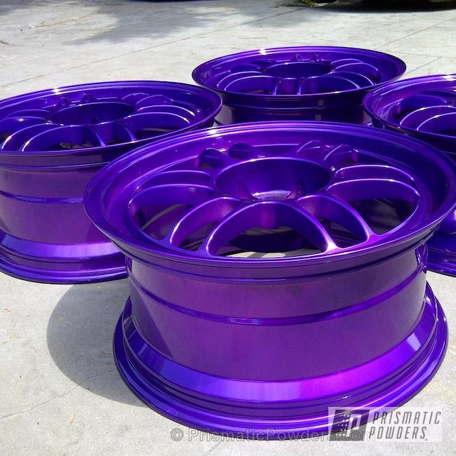 Powder Coating: Wheels,Custom,Enkei Wheels,Purple,powder coating,powder coated,Prismatic Powders,Candy Purple PPS-4442