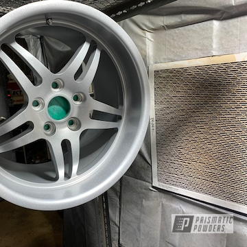 Powder Coated 18 Inch Ccw Wheels In Pms-2569