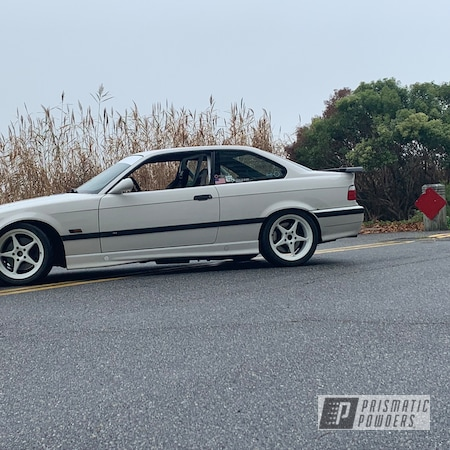 """Powder Coating: Wheels,Automotive,Alpine White,IFG,17"""" Aluminum Rims,Alpine White PSB-4880,Audi A5 Coupe"""