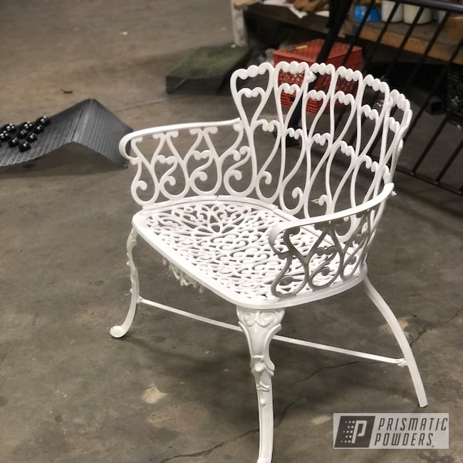 Powder Coating: RAL 9003 Signal White,Wrought Iron,Bench,Iron,Cast Iron,Antique Bench,Iron Bench