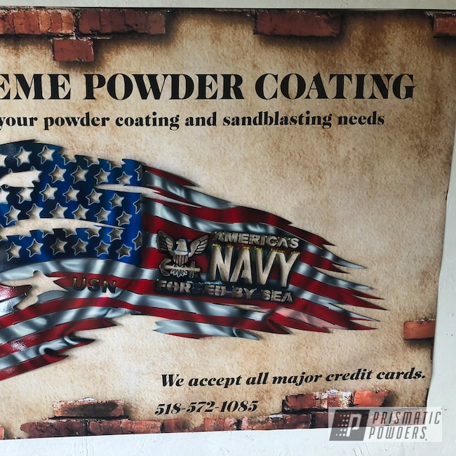 Powder Coating: Metal Art,Matte Black PSS-4455,Clear Vision PPS-2974,Art