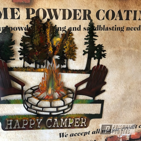Powder Coating: Metal Art,Matte Black PSS-4455,Clear Vision PPS-2974,Art