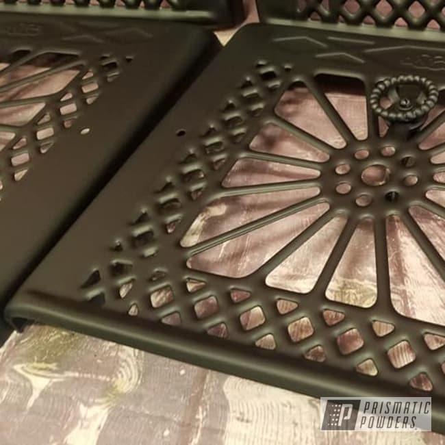 Powder Coating: BLACK JACK USS-1522,Vintage Vents,Restoration,Heat Vents,Household