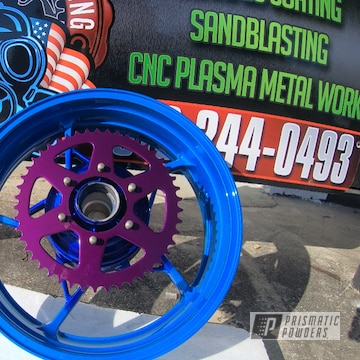 Powder Coated 17 Inch Kawasaki Ninja Wheels