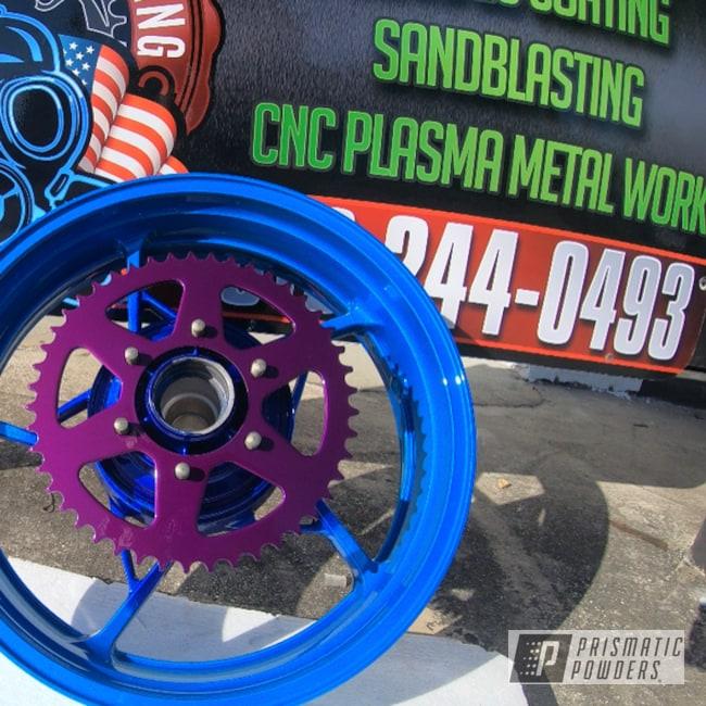 Powder Coated 17 Inch Kawasaki Ninja Wheels