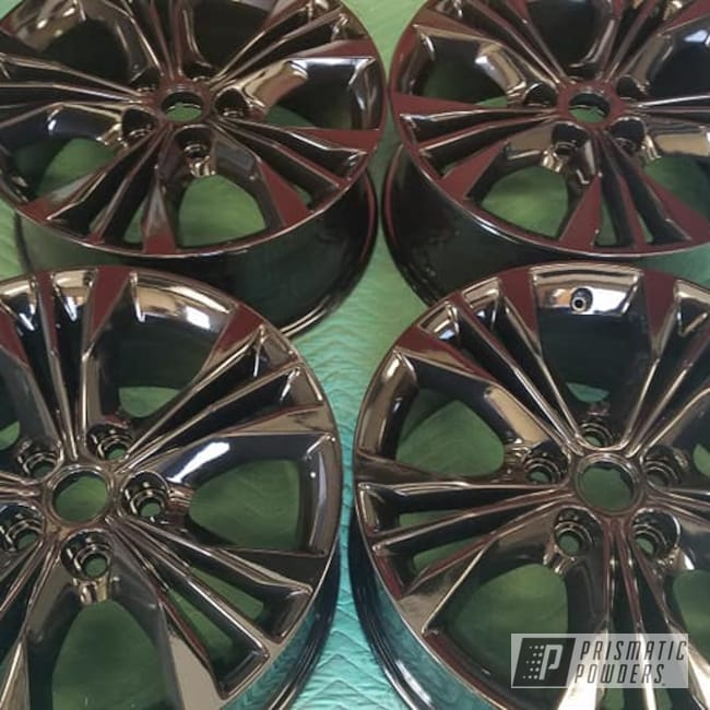 "Powder Coating: Wheels,Automotive,Ink Black PSS-0106,Aluminum Rims,19"" Aluminum Rims,Automotive Rims,Automotive Wheels,Aluminum Wheels"