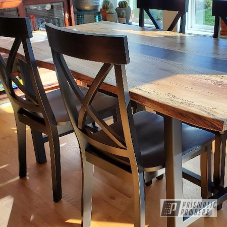 Powder Coating: Custom Furniture,BLACK JACK USS-1522,Custom Metal Furniture,Table,Dining Table,Furniture
