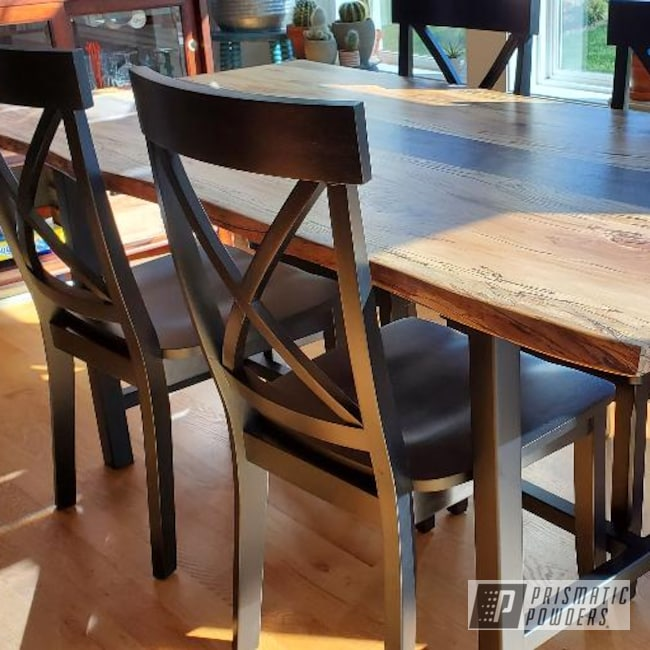 Powder Coating: Custom Furniture,BLACK JACK USS-1522,Custom Metal Furniture,Table,Dining Table,Furniture
