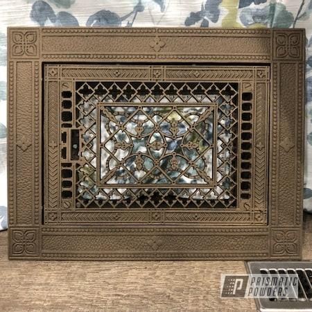 Powder Coating: Oil Rubbed Bronze Light PCB-4333,Antique Return Grate,Floor Grates,Antiques