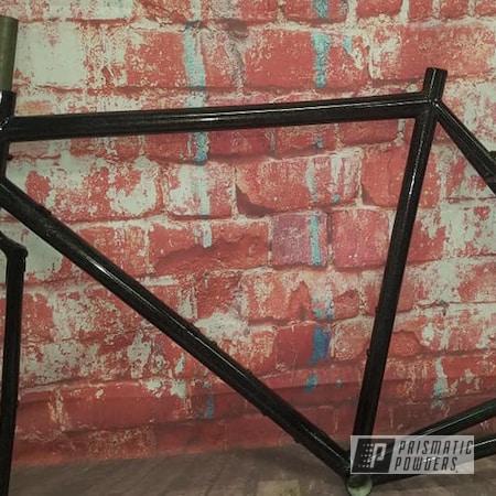 Powder Coating: Bike Frame,City Lights PMB-2689,Bicycle Parts,Bicycle,Bicycle Frame