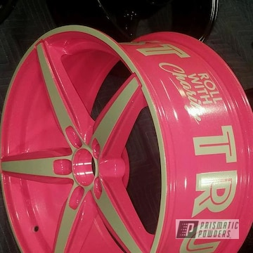 Powder Coated Custom 20 Inch Wheel In Pss-5690 And Pps-5875