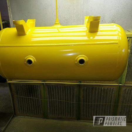 Powder Coating: Tank,Industrial Tanks,Hot Yellow PSS-1623