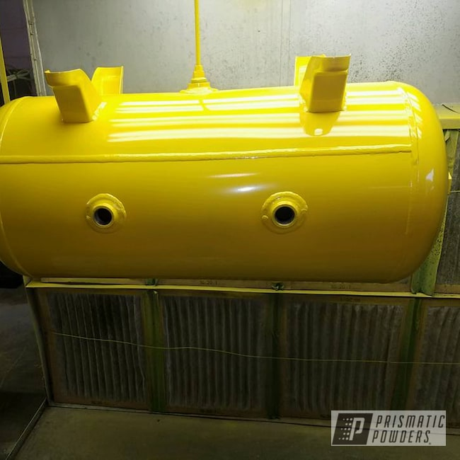 Powder Coating: Tank,Industrial Tanks,Hot Yellow PSS-1623