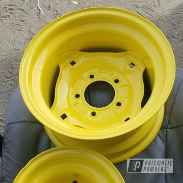 Powder Coated John Deere Tractor Rims In Pss-2600