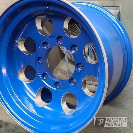 "Powder Coating: Wheels,16.5"" Wheels,Automotive,Alloy Wheels,Clear Vision PPS-2974,SUPER CHROME II PSS-10300,Hiboy,Ford Dark Blue PSB-4624,Ford"