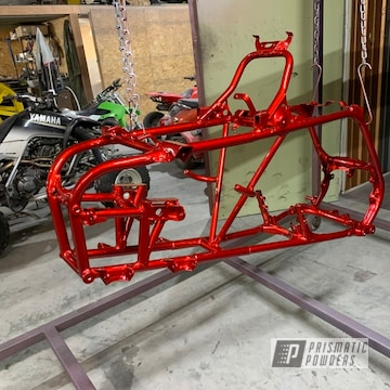 Powder Coated Quad Frame In Hss-2345 And Ppb-6398