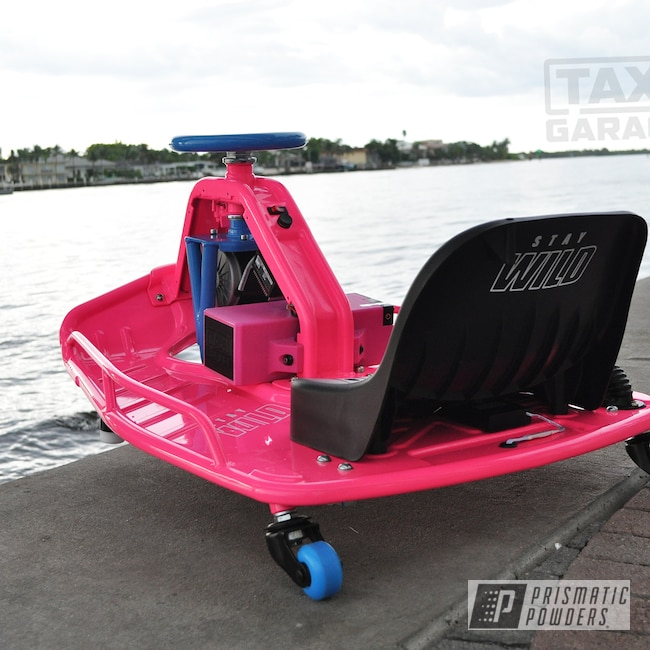 Powder Coating: Automotive,Taxi Garage Crazy Cart,Drift Car,Sassy PSS-3063