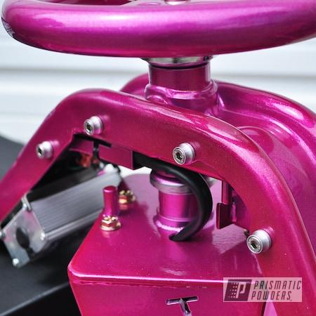 Powder Coating: Powder Coated Go Cart,Drift Cart,RACING RASPBERRY UPB-6610,Taxi Garage Crazy Cart,Taxi Garage,Crazy Cart,Go Cart