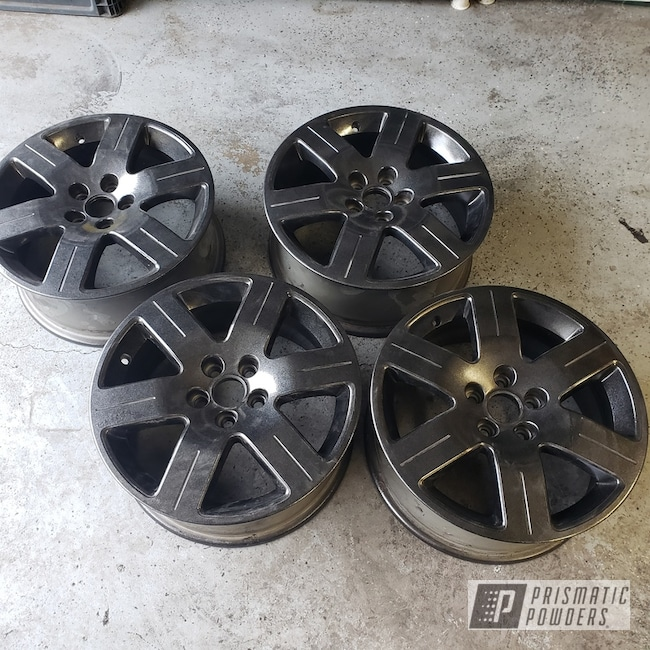 "Powder Coating: Wheels,Automotive,VW Rims,Rims,Volkswagen,Aluminum,Beetle,VW Black PMB-2650,16"" VW Wheels"