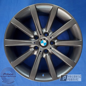 Powder Coated Bmw Wheel In Pmb-5458
