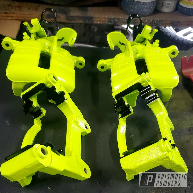 Powder Coating: Chartreuse Sherbert PSS-7068,Brembo,Brake Calipers,Audi,Brembo Brake Calipers