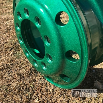 Powder Coated Truck Wheel In Pmb-5346 And Pps-2974