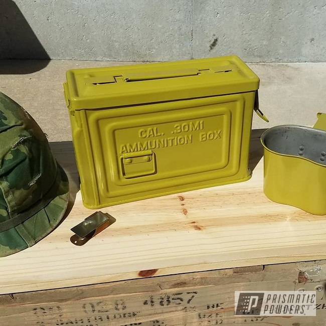 Powder Coating: BULLFROG BELLY PSB-6798,Ammo Can,Miscellaneous