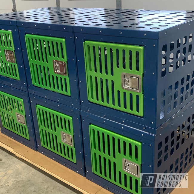 Powder Coating: Kennel,Clear Vision PPS-2974,Dog,TNC Fab,Crate,Aluminum,Fractured Apple PVB-10294,Dog Crate