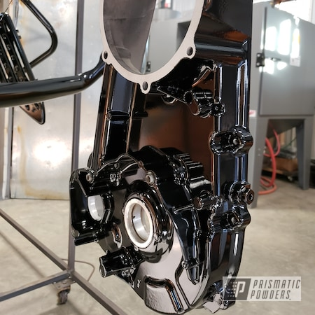 Powder Coating: Wheels,Bicycles,Bike Frame,GLOSS BLACK USS-2603