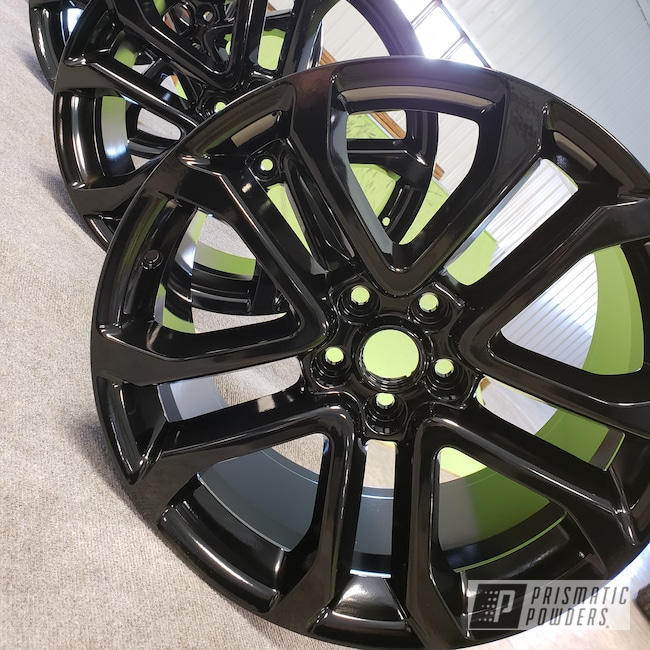 Powder Coating: Wheels,Bicycles,Bike Frame,GLOSS BLACK USS-2603