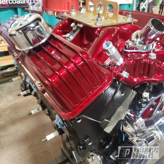 Powder Coating: Automotive,Turbo Parts,Clear Vision PPS-2974,Chairs,Custom Auto Parts,Illusion Cherry PMB-6905,Custom Automotive Parts,Engine Parts,lug nuts