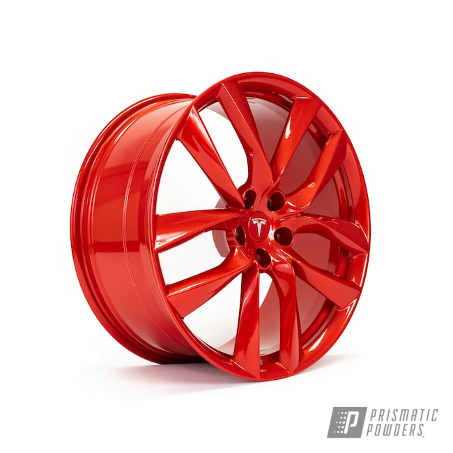 Powder Coating: Wheels,Alloy Wheels,Clear Vision PPS-2974,Custom Wheels,powder coating,Illusion Red PMS-4515,powder coated,Prismatic Powders,Miscellaneous