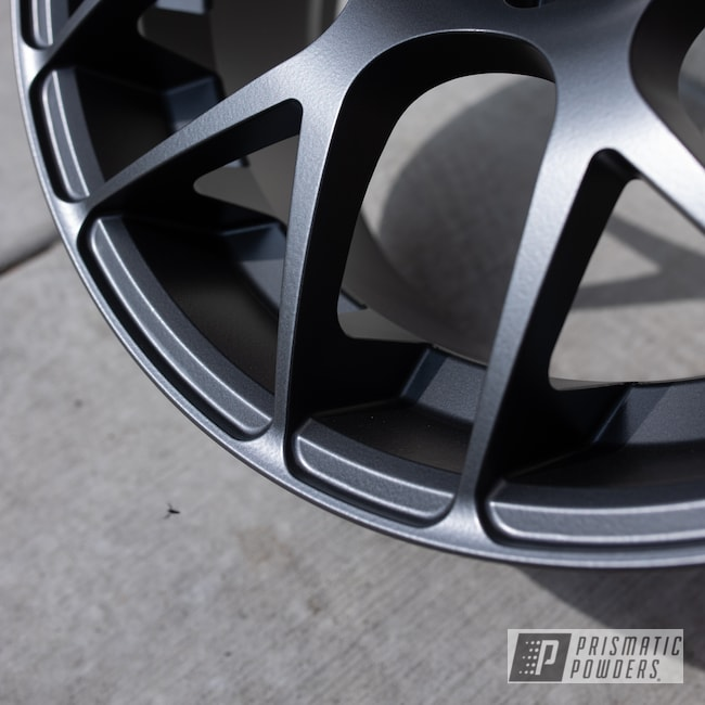 Powder Coating: Wheels,Automotive,Alloy Wheels,Evo Grey PMB-5969,Custom Wheels,powder coating,powder coated,Prismatic Powders,Miscellaneous