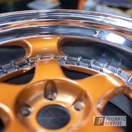Powder Coating: Wheels,Automotive,Alloy Wheels,Custom Wheels,powder coating,powder coated,Prismatic Powders,Trans Copper II PPS-2618,Miscellaneous
