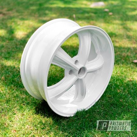 Powder Coating: Wheels,Automotive,Alloy Wheels,Custom Wheels,Polar White PSS-5053,powder coating,powder coated,Prismatic Powders,Miscellaneous