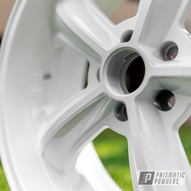 Powder Coating: Wheels,Automotive,Alloy Wheels,Custom Wheels,Polar White PSS-5053,powder coating,powder coated,Prismatic Powders,Miscellaneous