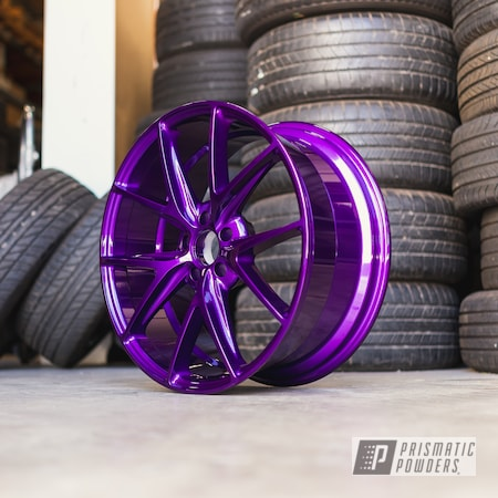 Powder Coating: Illusion Purple PSB-4629,Wheels,Automotive,Alloy Wheels,Clear Vision PPS-2974,Custom Wheels,Niche,Niche Wheels,powder coating,powder coated,Prismatic Powders