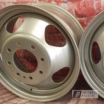 Powder Coated Dually Wheels In Pmb-1544