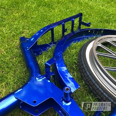 Powder Coating: Bicycles,Clear Vision PPS-2974,SUPER CHROME II PSS-10300,Motorbike,kml25,Otto Kynast,Bentley Blue PPB-4711