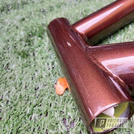 Powder Coating: Bicycles,Bike Frame,Bicycle Frame,Misty Copper PMB-1387