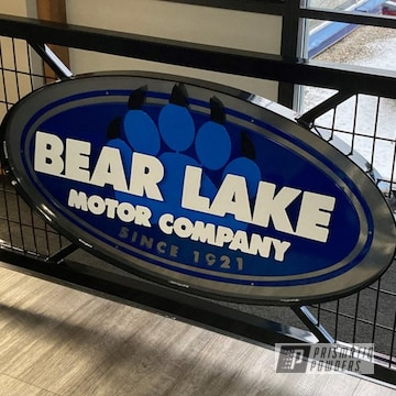 Powder Coated Metal Sign
