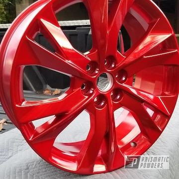 Powder Coated Chevy Blazer Wheels In Hss-2345 And Ppb-6415