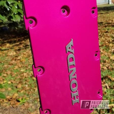Powder Coating: Intake Manifold,Automotive,Accord,Clear Vision PPS-2974,Illusion Pink PMB-10046,Honda